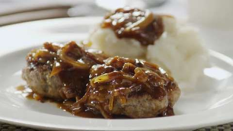 Hamburger Steak with Onions and Gravy Allrecipes.com