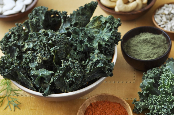 Mega-Green Organic Kale Chips! Ingredients kale*, sprouted sunflower ...