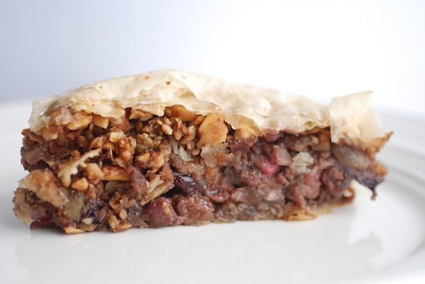 Always Order Dessert: On Berry Almond Baklava & Defrosting the Freezer ...