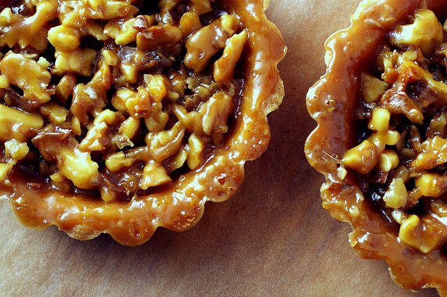 walnut tartlets | tasty treats | Pinterest