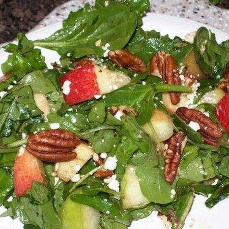 Apple Feta Salad   RD eats and treats   Pinterest