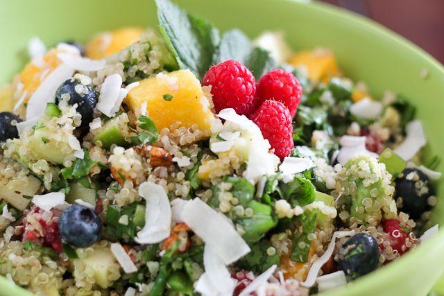 Breakfast Quinoa Salad | Recipe