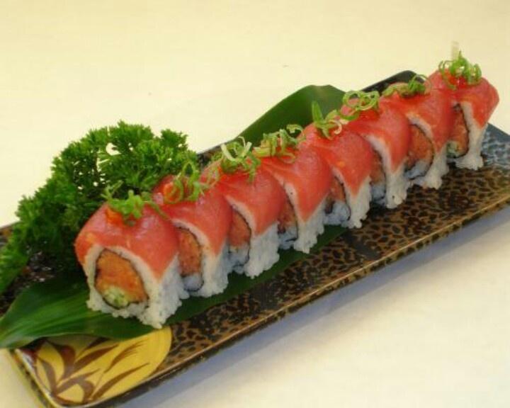 Dragon roll | Sushi | Pinterest