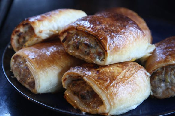 Lamb, rosemary, and apple sausage rolls | Must-try Recipes | Pinterest