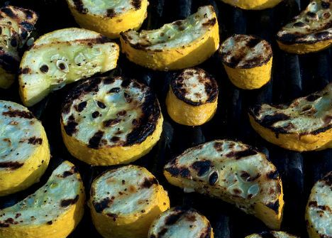 ... , garlic-balsamic grilled butternut or rice vinegar and chili oil