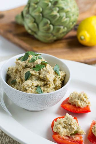 artichoke hummus | What would you bring to a picnic? | Pinterest