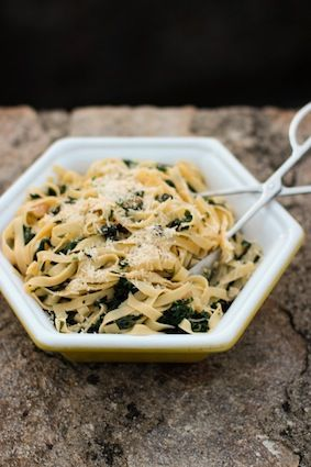Pasta with Stinging Nettles | Good Eats | Pinterest