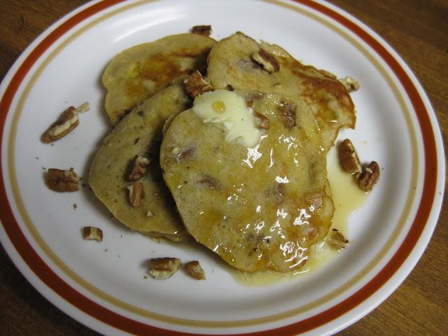 Banana Nut Pancakes | paleo/whole 30 | Pinterest