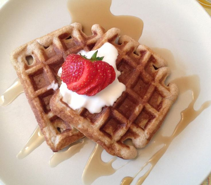 Coconut & Almond Flour Waffles | REAL food | Pinterest