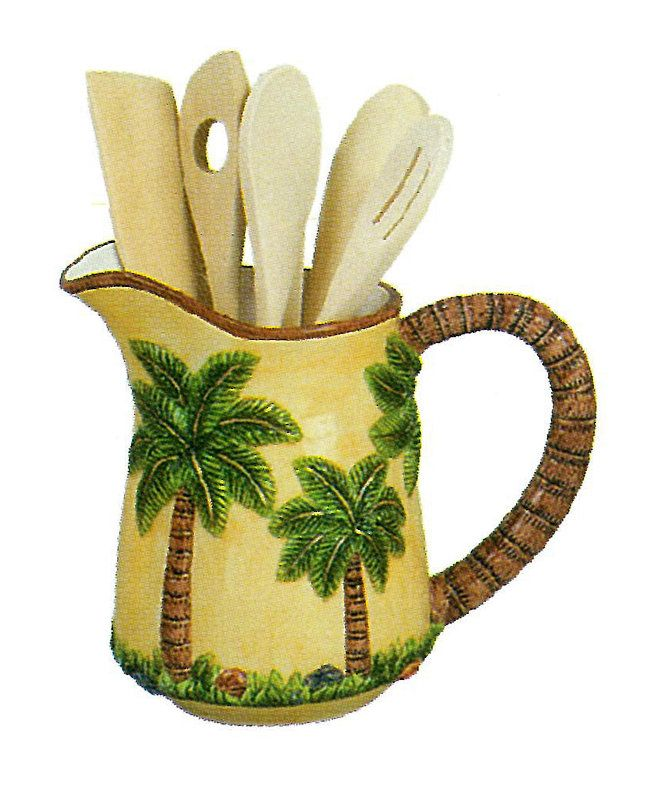 Pin By Ms. Dean On PALM TREES KITCHEN DECOR
