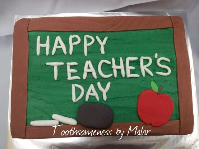 Teacher s day cake Teacher s Day Pinterest