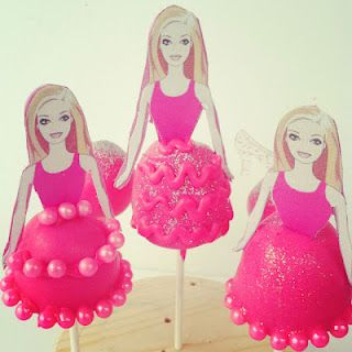 Barbie Doll Cake Pops by Amanda Cupcake featured by The Naptime Chef on babble.com