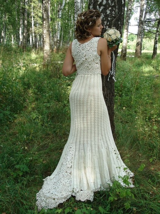 Wedding Dress Crochet Patterns Pinterest