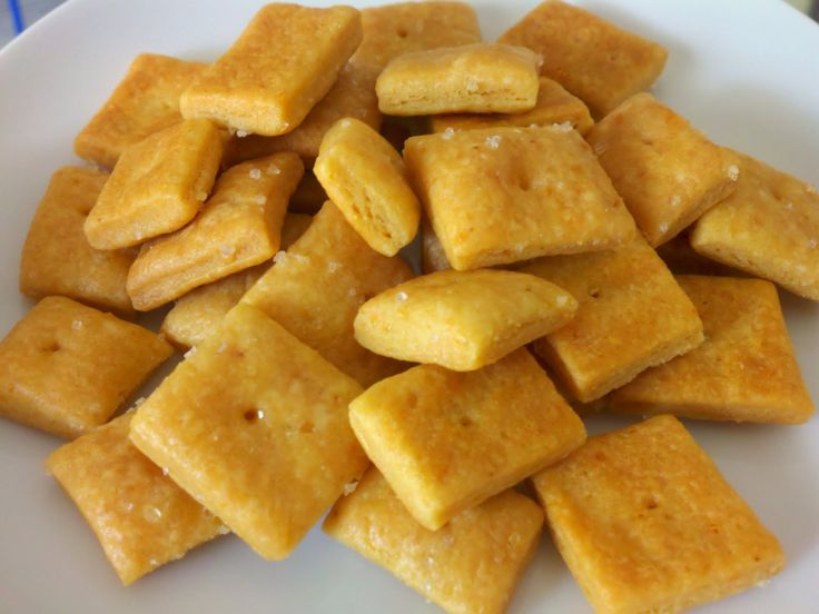 Homemade Cheese Crackers: 1½ cups (6 oz) grated extra-sharp Cheddar ...
