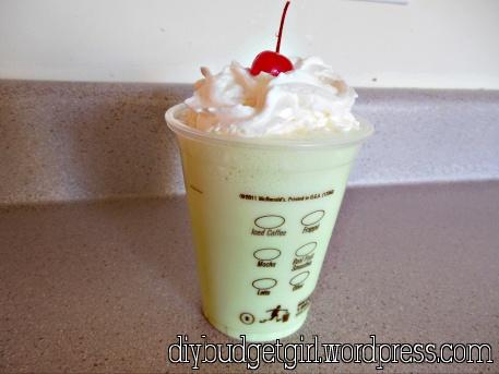 Homemade Shamrock Shakes | My Blog: Food | Pinterest