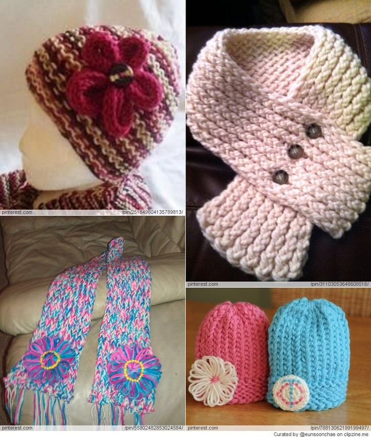 Knitting Projects : Loom Knitting Projects Knitting Pinterest