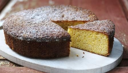 Ground almonds make this orange and almond cake deliciously moist