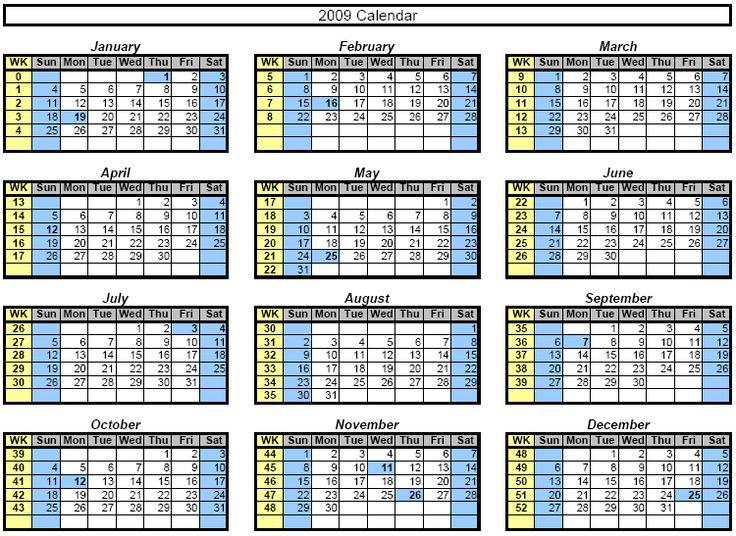 Monthly Calendar Templates | Printable Calendars | Pinterest