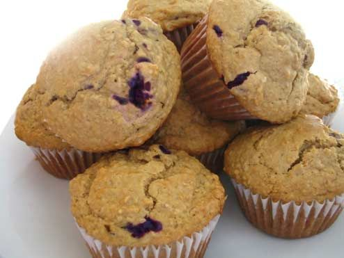 Oatmeal muffin Recipe | Another great muffin recipe! Blueberries and ...