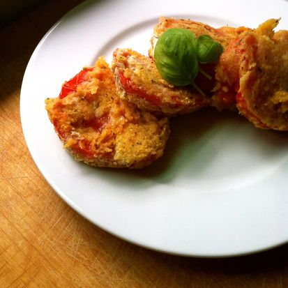 Cornmeal-Crusted Fried Tomatoes. If you've never had fried tomatoes ...