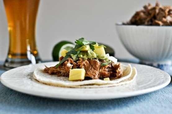 ... Pot Beer Braised Carnitas (made With Pork Shoulder, Beer, Spices