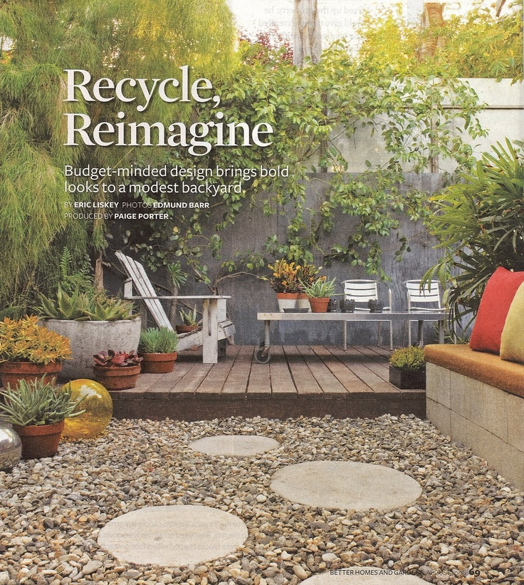 Low maintenance backyard home pinterest for Low maintenance backyard