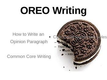 Oreo essay