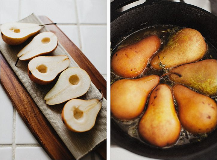 Honey-Roast Pears With Orange Blossom And Yoghurt Recipes — Dishmaps