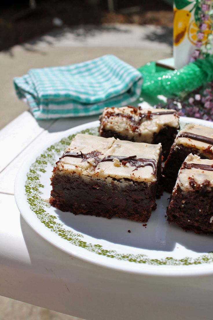 Extra Fudgy Kahlua Brownies | Sweet Tooth | Pinterest