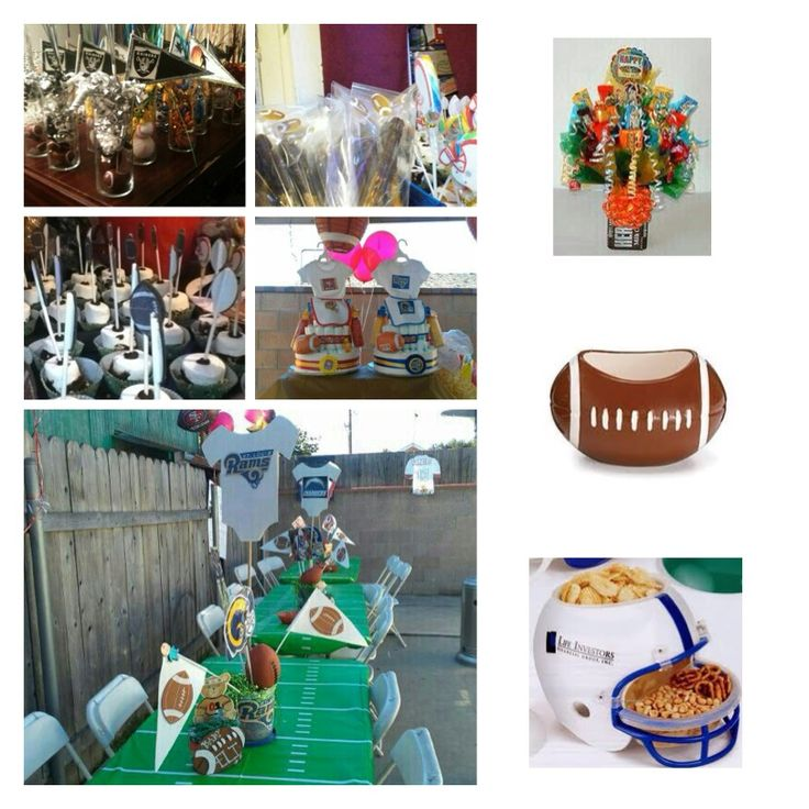baby shower food ideas football themed baby shower ideas