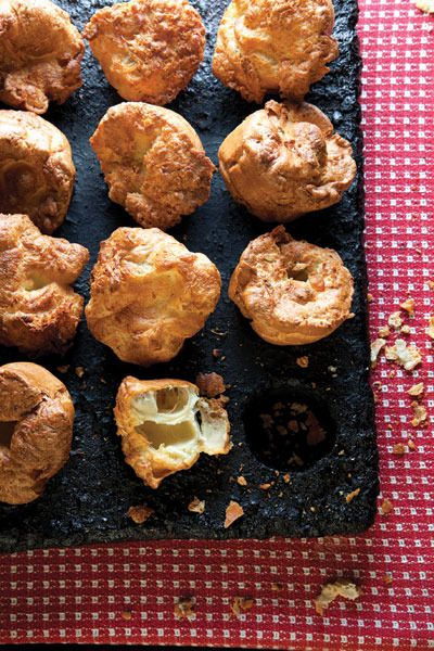 Rosemary Popovers by Saveur | Recipes | Pinterest