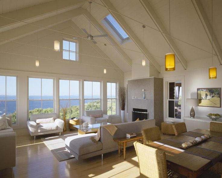 Beach House Contemporary Open To The View Coastal Homes
