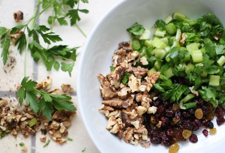 Summer Salads: Wheat Berry Salad with Lemon-Cumin Grilled Chicken