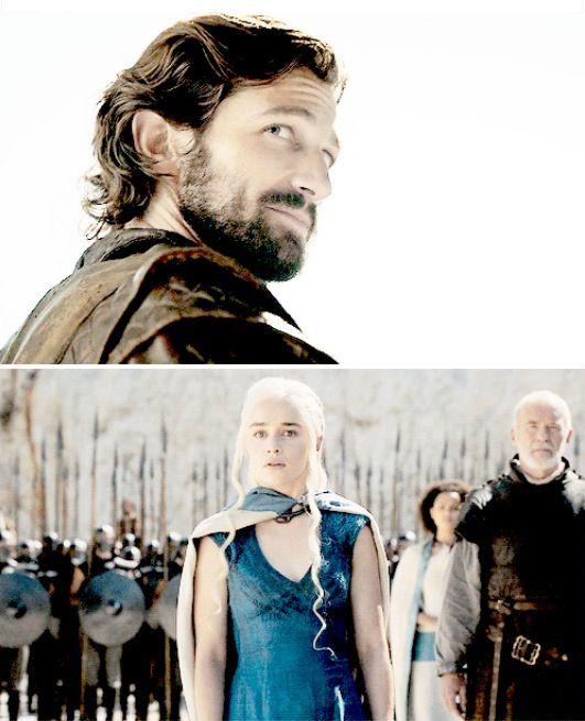 Daenerys and daario naharis | Drogo & Daenerys | Pinterest Daario Naharis And Daenerys
