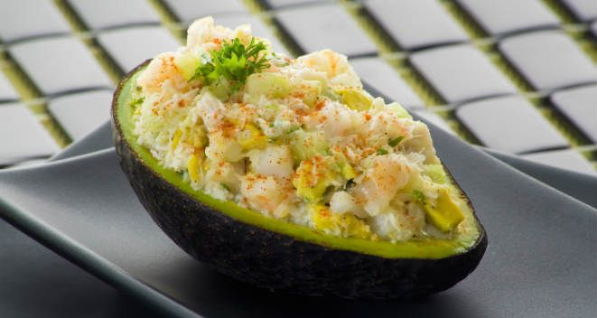 Tuna-Stuffed Avocado | Good Eats + Tasty Treats | Pinterest