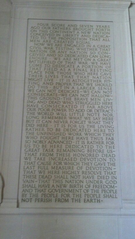 the gettysburg address an intellectual persuasion The gettysburg address | lincoln the writer | nineteenth-century poetry | letter  writing: audience, tone, and persuasion | public speaking.