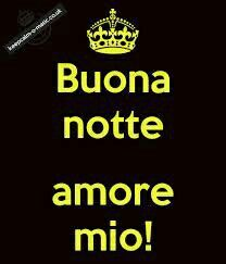 Goodnight My Love In Italian