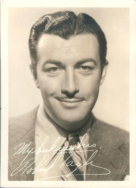 actor robert taylor old hollywood pinterest