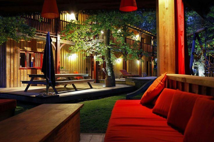 eclairage #jardin #terrasse  DECO // Au jardin  Pinterest