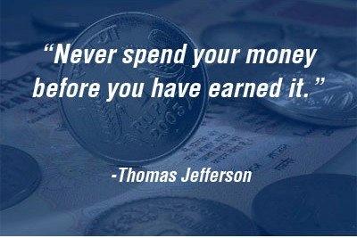 earning and spending money essay