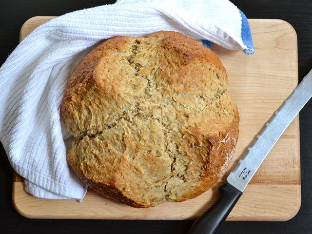Brown butter soda bread | Recipe