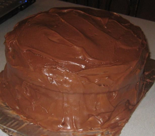 Mocha Fudge Layer Cake from Food.com: A local restaurant serves this ...