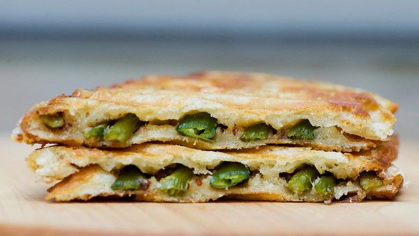 Asparagus Grilled Cheese~Perfect for a summer garden party, tea time ...