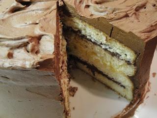 Bon Appétit...an American Test Kitchen: TEST #58: Orange Cake layered ...