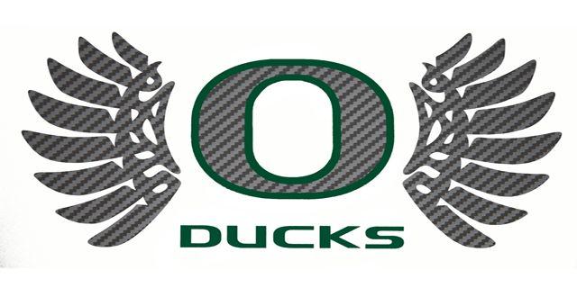 Oregon Duck Wings Logo LargeOregon Ducks Logo With Wings Green