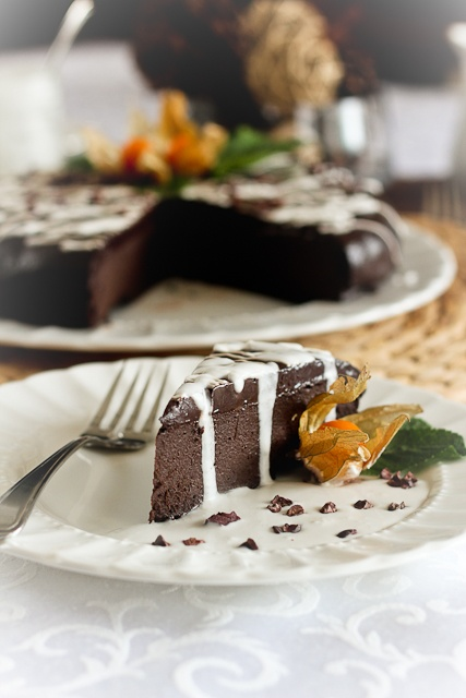 Simply THE Most Decadent Healthy Chocolate Cake EVER Recipes ...