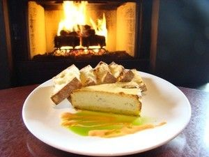 Gorgonzola Cheesecake With Vanilla Pear Compote Recipes — Dishmaps