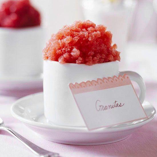 Strawberry Granita | Recipe