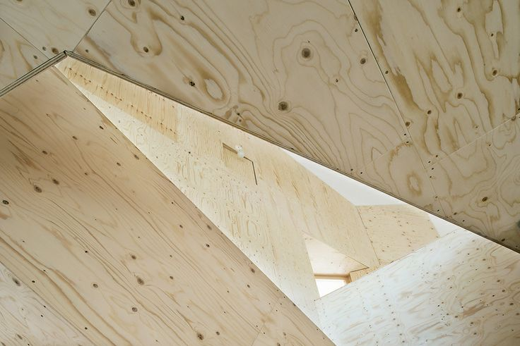 plywood arkitektur skandinavisk  Wood  Pinterest