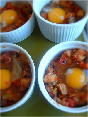 : Eggs in Purgatory with Artichoke Hearts, Potatoes, and Capers ...